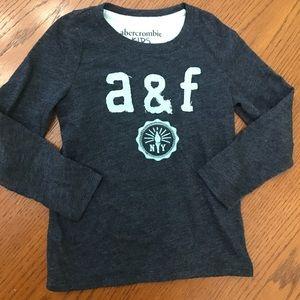 Abercrombie Kids Long Sleeve Logo T size 3/4